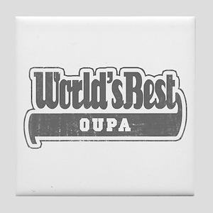 WB Grandpa [Afrikaans] Tile Coaster